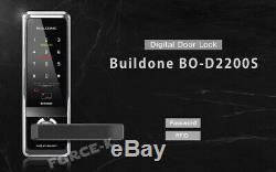 Numérique Intelligent Buildone Bo-serrure D2200s Sans Clé De Verrouillage Passcode + Rfid