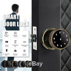 Numérique Intelligent De Porte Verrou De La Batterie Powered App Tactile Passe Sans Clé De Verrouillage Securit