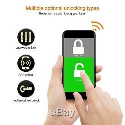 Numérique Intelligent De Verrouillage De Porte Bt App Télédéverrouillage Tactile Mot De Passe Accueil Sécurité