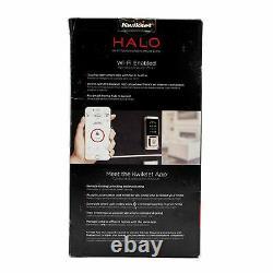 Open Box Kwikset 99390-001 Halo Wi-fi Keyless Entry Smart Lock À Satin Nickel