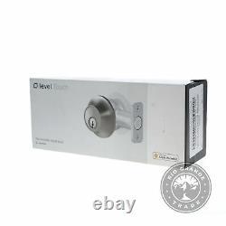 Open Box Niveau C-l12u Touch Edition Keyless Entrée Smart Lock In Satin Nickel