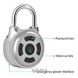 Padlock Bluetooth Lock Smart Security Door Phone Ios Android App Déverrouiller Keyless