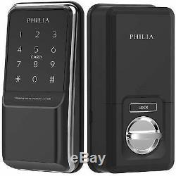 Philia Pds-100bz Bluetooth Z-wave, Rfid, Clavier, Verrou De Porte Numérique Sans Clé