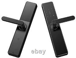 Pineworld 203 Wifi Smart Door Lock, Keyless Mortise Lock Avec Écran Tactile Et