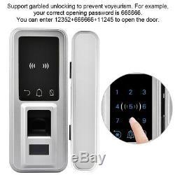 Porte Biométrique Intelligente De Digital Keylock De Serrure De Keyless De Serrure D'empreinte Digitale