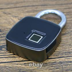 Porte D'empreinte Digitale Sans Clé Smart Lock Cadenas Biométrique Étanche