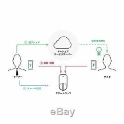 Qrio Smart Lock Sans Clé Accueil Porte Avec Smart Phone Q-sl1 Japon Nouvelle