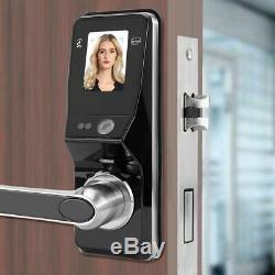 Reconnaissance Intelligente De Visage Électronique De Verrouillage De Porte Sans Clé IC Mot De Passe Carte Verrouillage De Sécurité