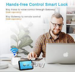 Ruveno Slim Smart Fingerprint Verrouillage De Porte Avec Poignées, Verrouillage De Porte Sans Clé