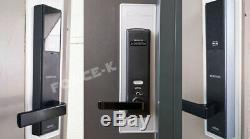 Samsung Ezon Shp-dh540 Smart Numérique Doolock Serrure Sans Clé Mortaise Code À Passu + Rfid