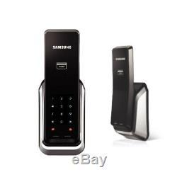 Samsung Ezon Shs-p520 Sans Clé Numérique Intelligent Serrure Poussoir Intérieur Extérieur Tirer