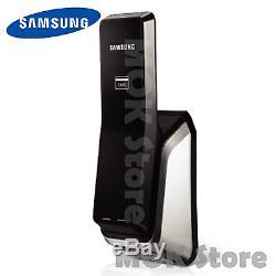 Samsung Ezon Shs-p520 Serrure De Porte Intelligente Sans Clé Digitale Push Inside Tirez Vers L'extérieur