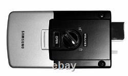 Samsung Ezon Smart Digital Door Lock Shs-2920 Keyless Black 2 Ea Clé Dure