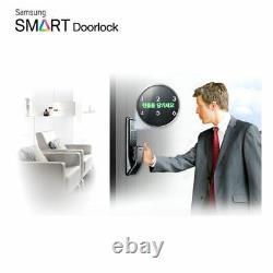 Samsung Keyless Smart Digital Door Serrure Push & Pull Shp-dp710 + 2 Balises Clés Express