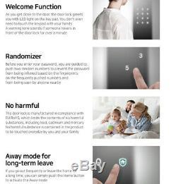 Samsung Sds Shs-p510 Push Pull Poignée Sans Clé Numérique Intelligent De Verrouillage De Porte Mortaise