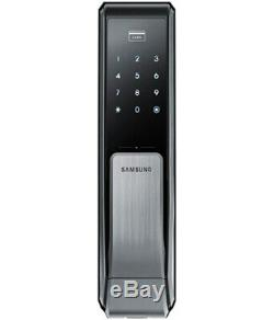 Samsung Sds-shp Dp710 Push Pull Poignée Sans Clé Numérique Intelligent De Verrouillage De Porte Mortaise