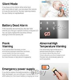 Samsung Sds-shp Dp751 Push Pull Poignée Sans Clé Numérique Intelligent De Verrouillage De Porte Mortaise