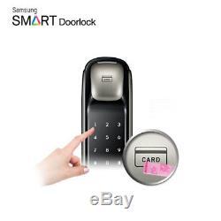 Samsung Serrure De Porte Numérique Intelligente Sans Clé Push & Pull Shp-dp610 Expédition Accélérée