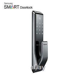 Samsung Serrure De Porte Numérique Sans Clé Smart Push & Pull Shp-dp710 + 2 Étiquettes À Clé Express