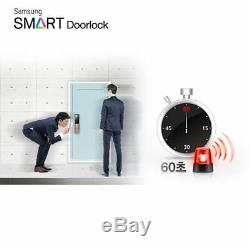 Samsung Serrure De Porte Numérique Sans Clé Smart Push & Pull Shp-dp810 + 2 Porte-clés Express