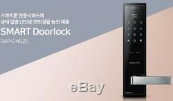 Samsung Shp-dh520 Poignée Sans Clé Tactile Bluetooth Numérique Iot De Verrouillage De Porte