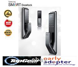 Samsung Shp-dp710 Push Pull Door Key-less Digital Smart Door Lock Dhl Shipping