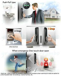 Samsung Shp-dp720 Smart Numérique Touchpad Touchless Keyless Push-pull With2 Key-tag