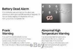Samsung Shs-2920 Sans Clé Tactile Numérique Intelligent De Verrouillage De Porte Avec 2 Clés Balises Système D'entrée