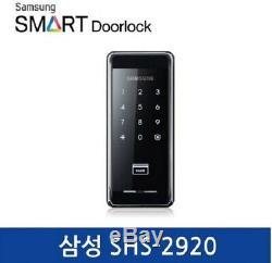 Samsung Shs-2920 Smart Digital Premium Security, Serrure De Porte Sans Clé Pour Maison
