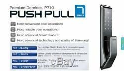 Samsung Shs-dp710 Clés Moins Push Pull Numérique Intelligente De Verrouillage De Porte (pull De L'extérieur)