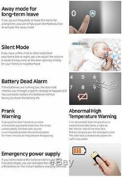 Samsung Shs-h700 Serrure De Porte Numérique Intelligente À Clé Sans Contact Avec Touches