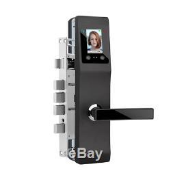 Sans Clé En Alliage D'aluminium Intelligent Palmprint Visage De Reconnaissance Faciale De Verrouillage De Porte Electri
