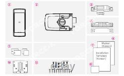 Sans Clé Smart Lock-k3 Milre Serrure R36s Digital Security + Rfid Entrée Passcode