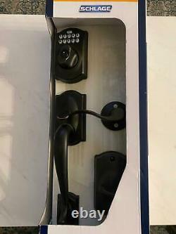Schlage Keyless Entry Smart Lock Avec Alarme Et Camelot Levier Handleset