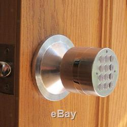 Sécurité Bricolage Home Sécurité Sans Clé De Verrouillage Du Clavier Intelligent Batterie D'alimentation De Porte D'entrée De Verrouillage