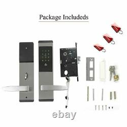 Sécurité Electronic Keyless Door Lock Digital Smart App Écran Tactile Wifi Clavier