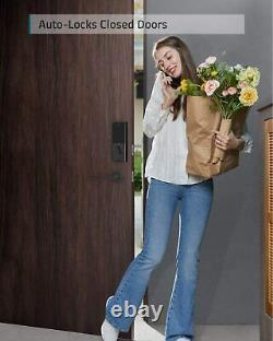 Sécurité Eufy Smart Lock Touch, Détecteur D'empreintes Digitales, Verrouillage De Porte Sans Clé Deadbolt