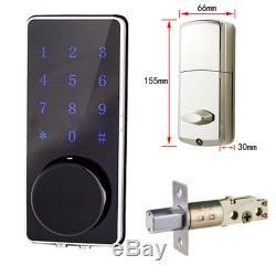 Sécurité Serrure À Distance Sans Serrure De Porte Serrure Électronique À Code Smart Code