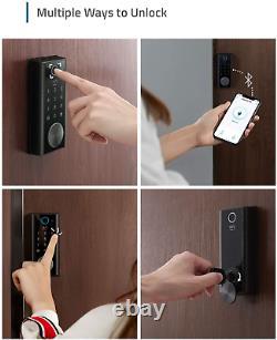 Sécurité Smart Lock Touch Fingerprint Scanner Keyless Entry Door Lock Ip65