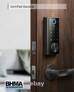 Security Smart Lock Touch, Scanner D'empreintes Digitales, Serrure De Porte D'entrée Sans Clé