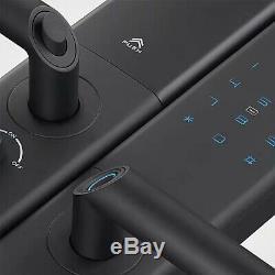 Serrure D'empreintes Digitales Lenovo Empreintes Digitales Sans Clé De Verrouillage De Porte À Puce (starry Sky Noir)