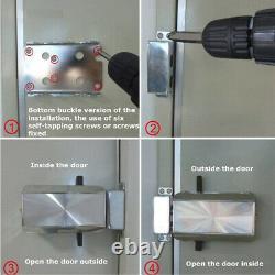 Serrure De Porte Électronique Intelligente Antivol Sécurité De La Maison Kit De Verrouillage Sans Clé F5t0