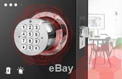Serrure De Porte Électronique, Serrure De Porte Sans Clé De Code De Clavier Numérique Intelligent De Bluetooth App