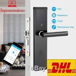 Serrure De Porte Gratuite Dhlelectronic, Code Bluetooth App Intelligent Bluetooth Digital Keyless