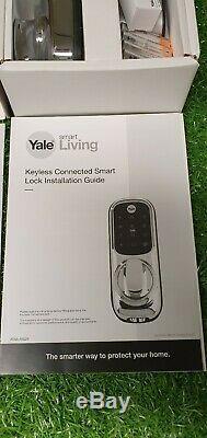 Serrure De Porte Intelligente À Écran Tactile Connecté Sans Clé Yale Yale Smart Living. Bn (f)