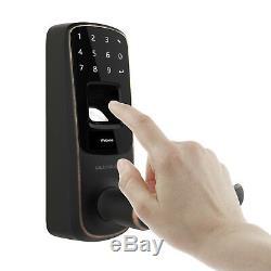 Serrure De Porte Intelligente Keyless Ultraloq Ul3 À Empreinte Digitale Et À Écran Tactile