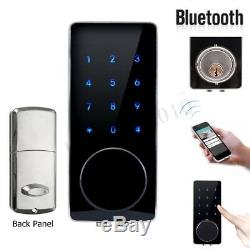 Serrure De Porte Intelligente Sans Clé Bluetooth Tactile Touch Password Password Home Security