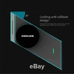 Serrure De Porte Intelligente Sherlock S2 Accueil Keyless Lock Empreinte Digitale + Mot De Passe De Travail Pour