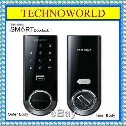 Serrure De Porte Numérique Samsung Smart Keyless Sans Pêne Dormant Shs-3321 Serrure De Porte Smart