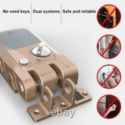 Serrure De Porte Télécommandée Serrure Intelligente Anti-theft Home Security Keyless